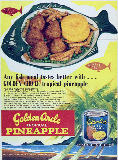 vivatvintage:  Pineapple, 1964