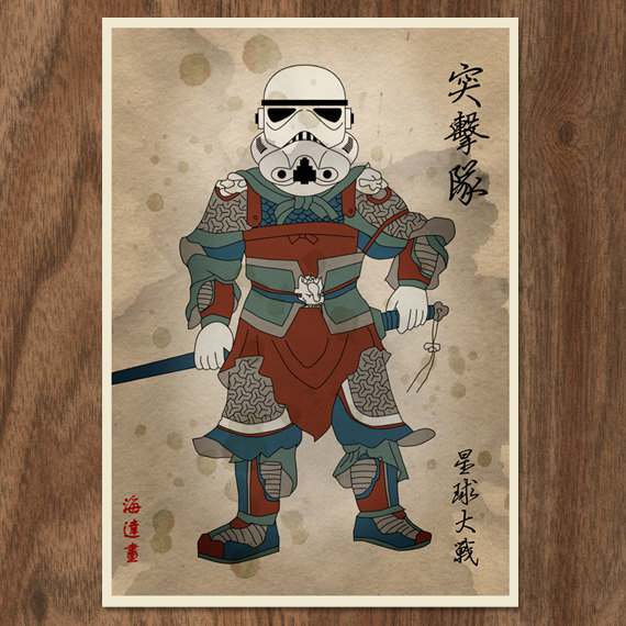 jaymug:  'Star Wars' Characters Reimagined As Chinese Imperial Warriors by Joseph Chiang