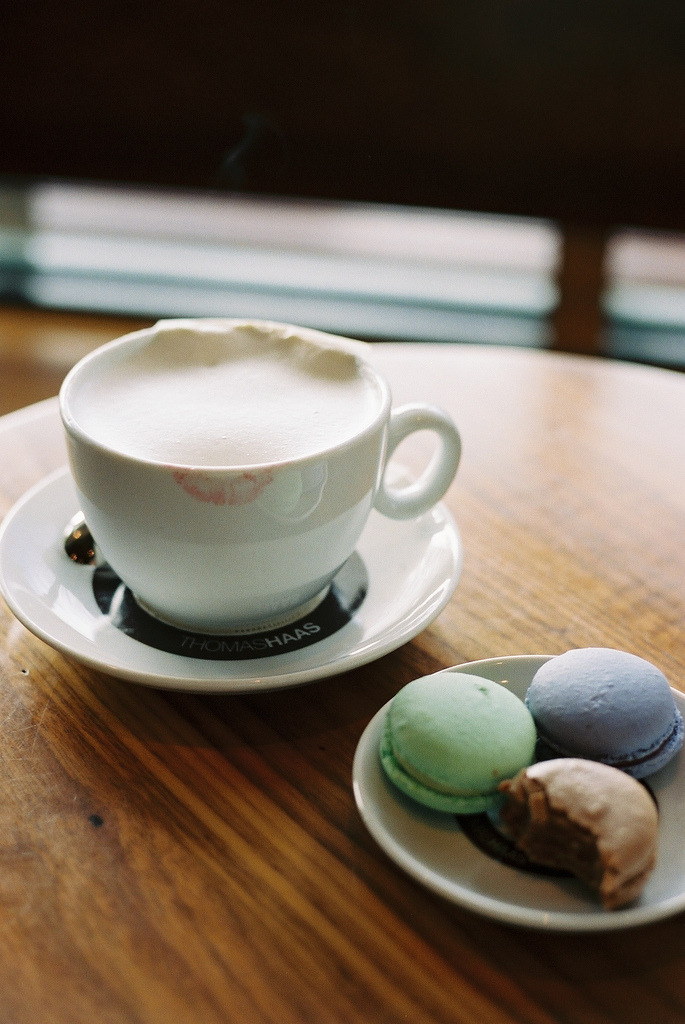 Thomas Haas - Macarons and London Fog (by Ashley E. Moore)