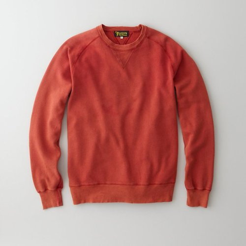 closedparty:  1950's Crew Sweatshirt by Levi's Vintage Clothing There's practically nothing more perfect (and comfortable) than a crewneck sweatshirt for those chilly Spring nights. We're digging this washed red look from Levi's Vintage.