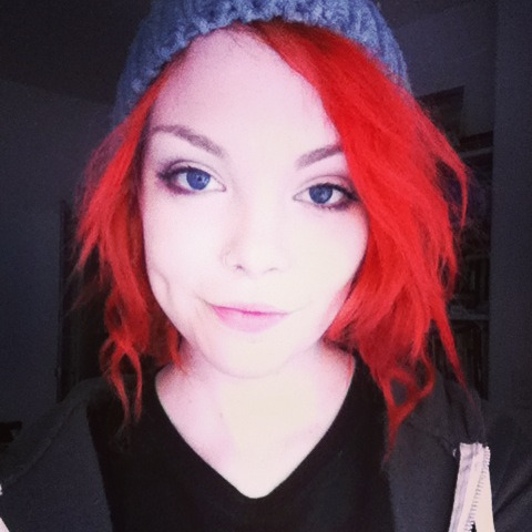 I have red hair now. I've had it for a while, actually. I'm just not on Tumblr very often anymore because I don't have a computer anymore and it's really annoying to use my phone. Anyway, ignore my face.