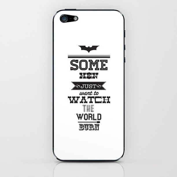 5 year anniversary of #darkknight #batman  available at: society6.com/cjwarrington/cases