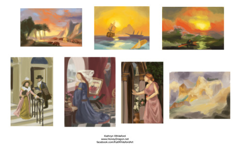 Art Camp - Colour StudiesA few colour studies done today and I have to say these exercises have been very enlightening.  View Post