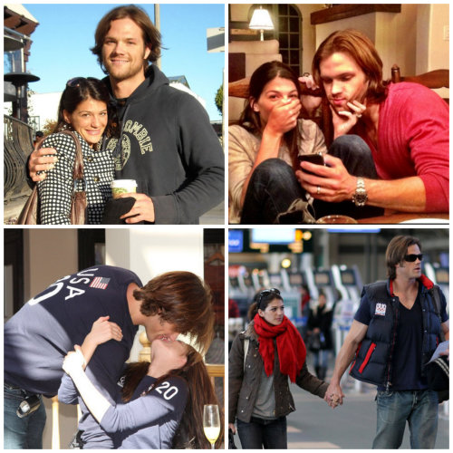 supernaturallysexycast:  4 Favorite Photos of Jared and Genevieve