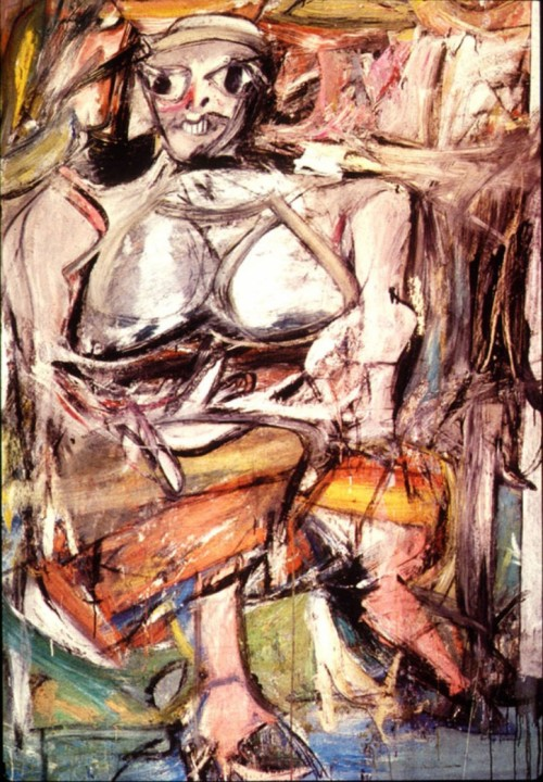 Woman, 1952; by Willem de Kooning