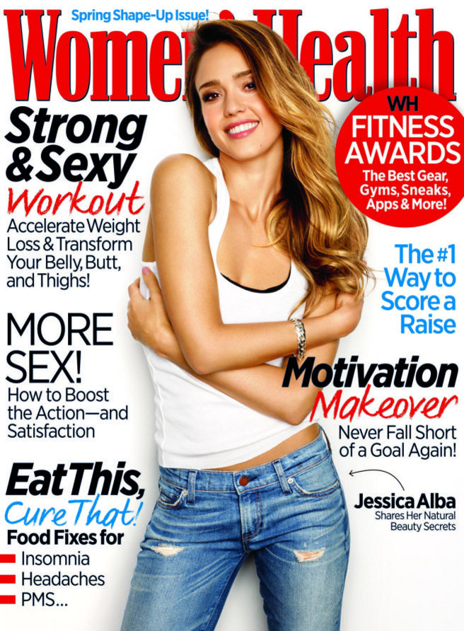 JESSICA ALBA - WOMEN'S HEALTH