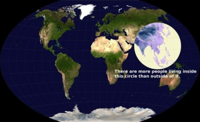 wow! via Most of the people live in a small circle on Earth » Design You Trust – Design Blog and Community)