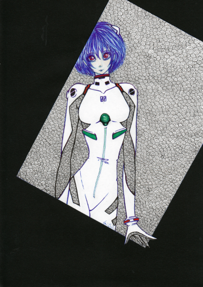 I gave you Asuka now I give you Rei. Enjoy. ^^