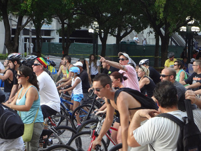 How Miami Is Climbing The List Of Top Bike-Friendly Cities | WLRN Miami recently jumped ten spots on Bicycling magazine's list of the country's top, bike-friendly cities. It's the fastest rising city on the list.