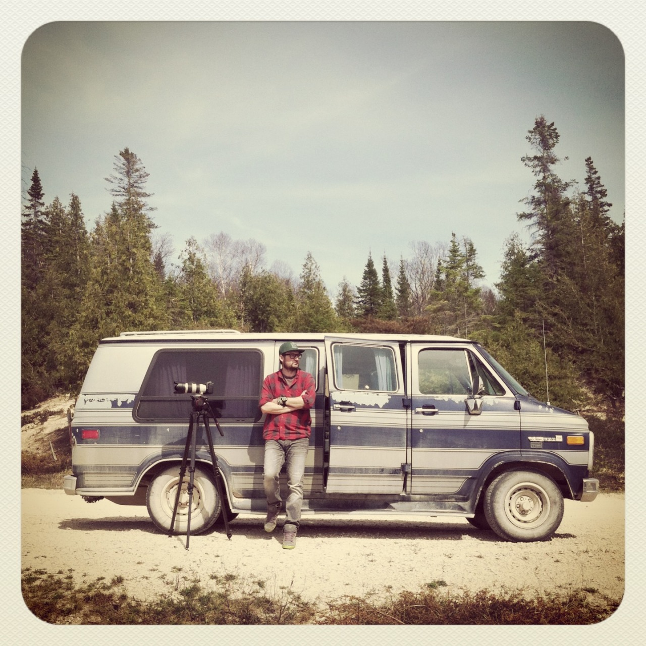 Production Van + Beaver Island + Michigan www.nateluke.com