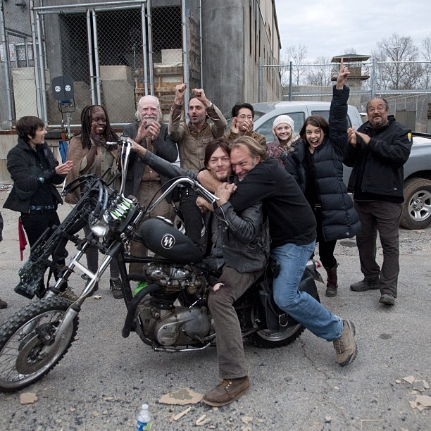 bigbaldhead:  wrap of season three