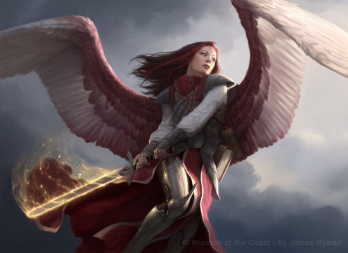 valar-morghulis:  Angel of Thune by James Ryman