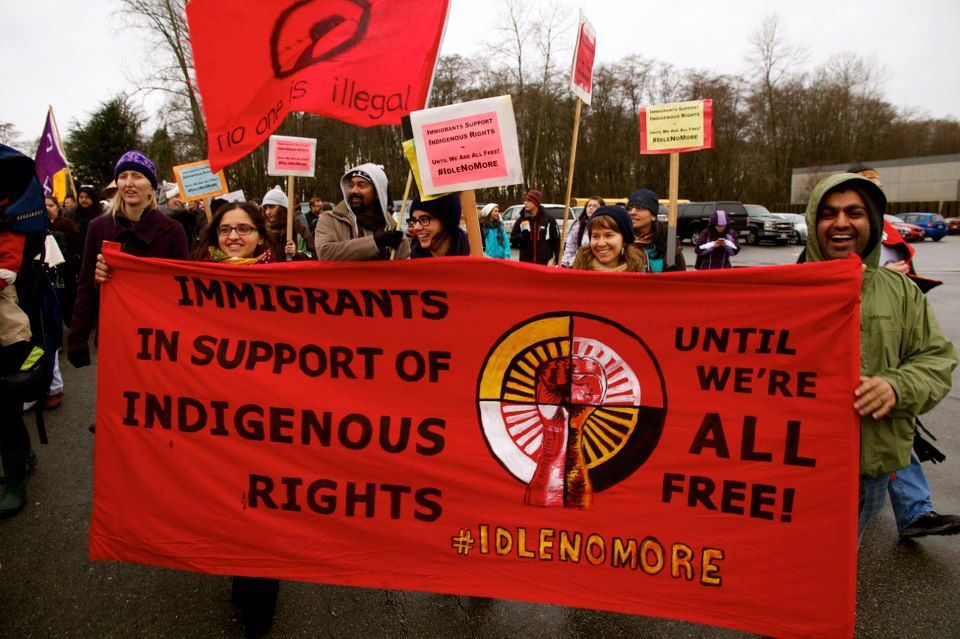 Immigrants for #IdleNoMore