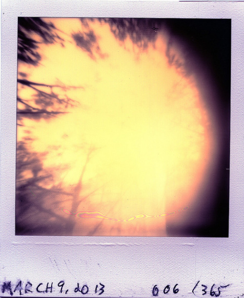 Pinhole: March 9, 2013 (006/365) on Flickr.Nashville Ammo Can, ~f/175, tilted film plane, PX 600 Silver Shade UV+, about 30 seconds