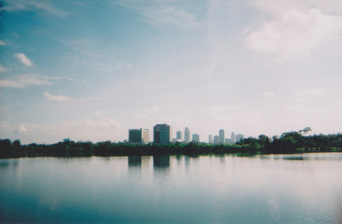 Orlando as seen from the end of Ivanhoe Road.
