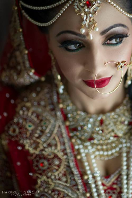 beautifulindianbrides:  Photo by:Harpreet Garcha