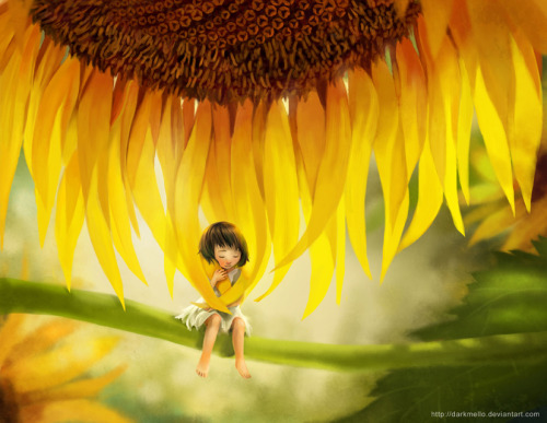 Sunflower child by ~darkmello