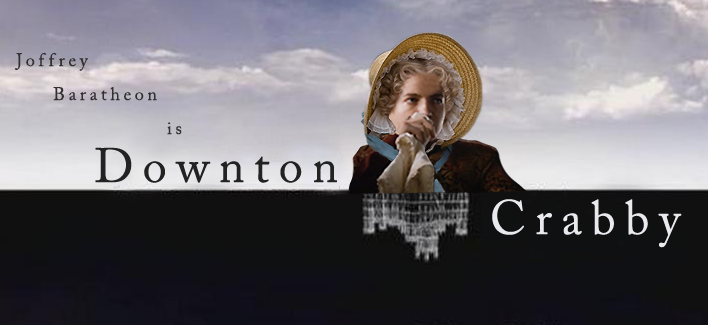 Considering that we make Downton Abbey and Game of Thrones tees, this mashup seemed fairly inevitable. Now pass the smelling salts, plz.