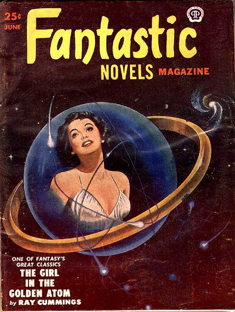 Fantastic Novels, Pulp Magazine - 1951 Jun by kocojim on Flickr.