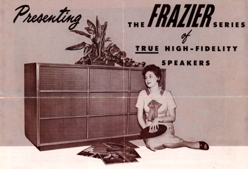 vinylespassion:  Frazier Speakers