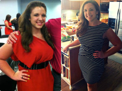 Before: May 2012=190lbs During: March 31, 2013= 172lbs Sorry guys, I know I've been posting a lot of progress pictures lately but I'm seeing major results this week, and I'm so excited! I just bought the dress on the left and it's a size 9 in juniors at kohls which is a big deal for me! Carry on =)