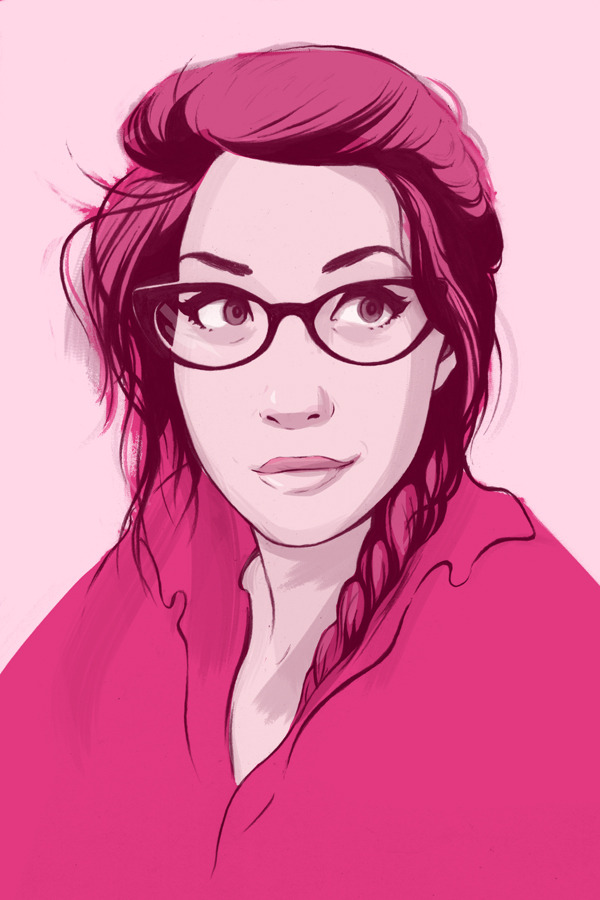 My magenta-self for Magenta Manor!