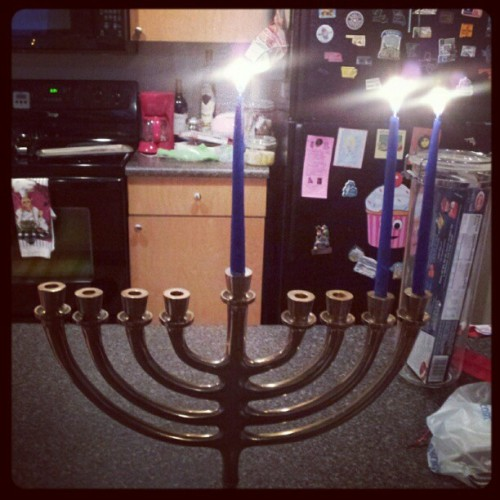 Second night of Chanukah