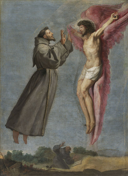 nuclearharvest:  The Stigmatization of Saint Francis by Vicente Carducho 1576  SO MUCH LOVE RIGHT NOW