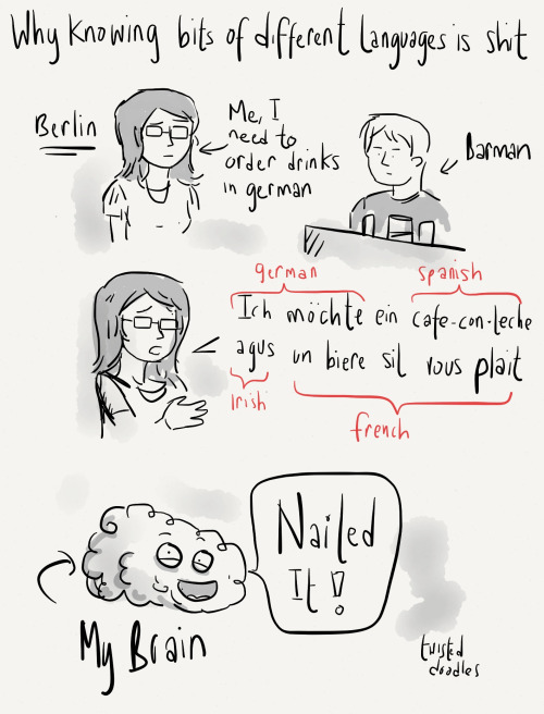 twistedlildoodles:  I'm in Berlin.