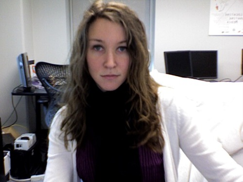 Used Photo Booth at the office to put on my makeup this morning. Probably should have brushed my hair while I was at it. How is it only Tuesday!?
