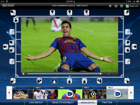 BSkyB's Champions League highlights let UK fans choose from 20 camera angles via Sky Sports for iPad app Read more over at The Next Web