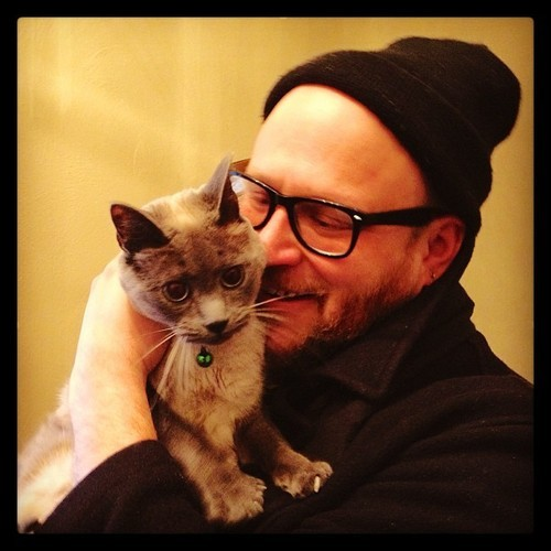 boyswithbeardswithcats:  From my blog, Hug Every Cat :)