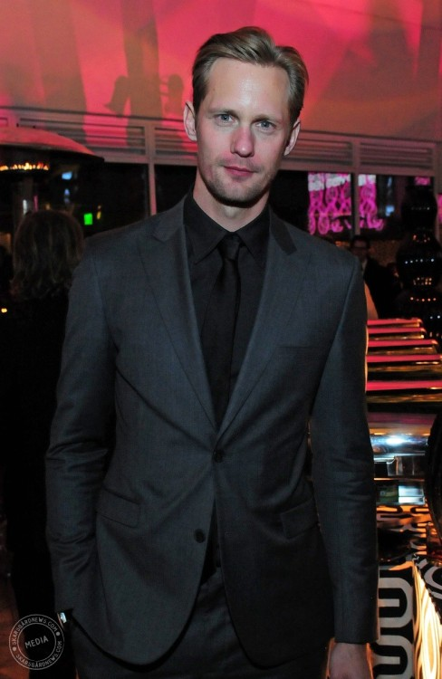 skarsgardnews:  Alexander Skarsgård at HBO's Official Golden Globe Awards After Party - HQ