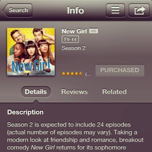 Correction: 25 episodes. And downloading… Can't wait for the season finale!