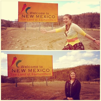 Welcome to #NewMexico, the Land of #Enchantment!  #theseareourenchantedfaces #whatdoesenchantmentlooklike @abbominator