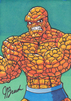 Sketch Card #90 - Thing by *destinyhelix