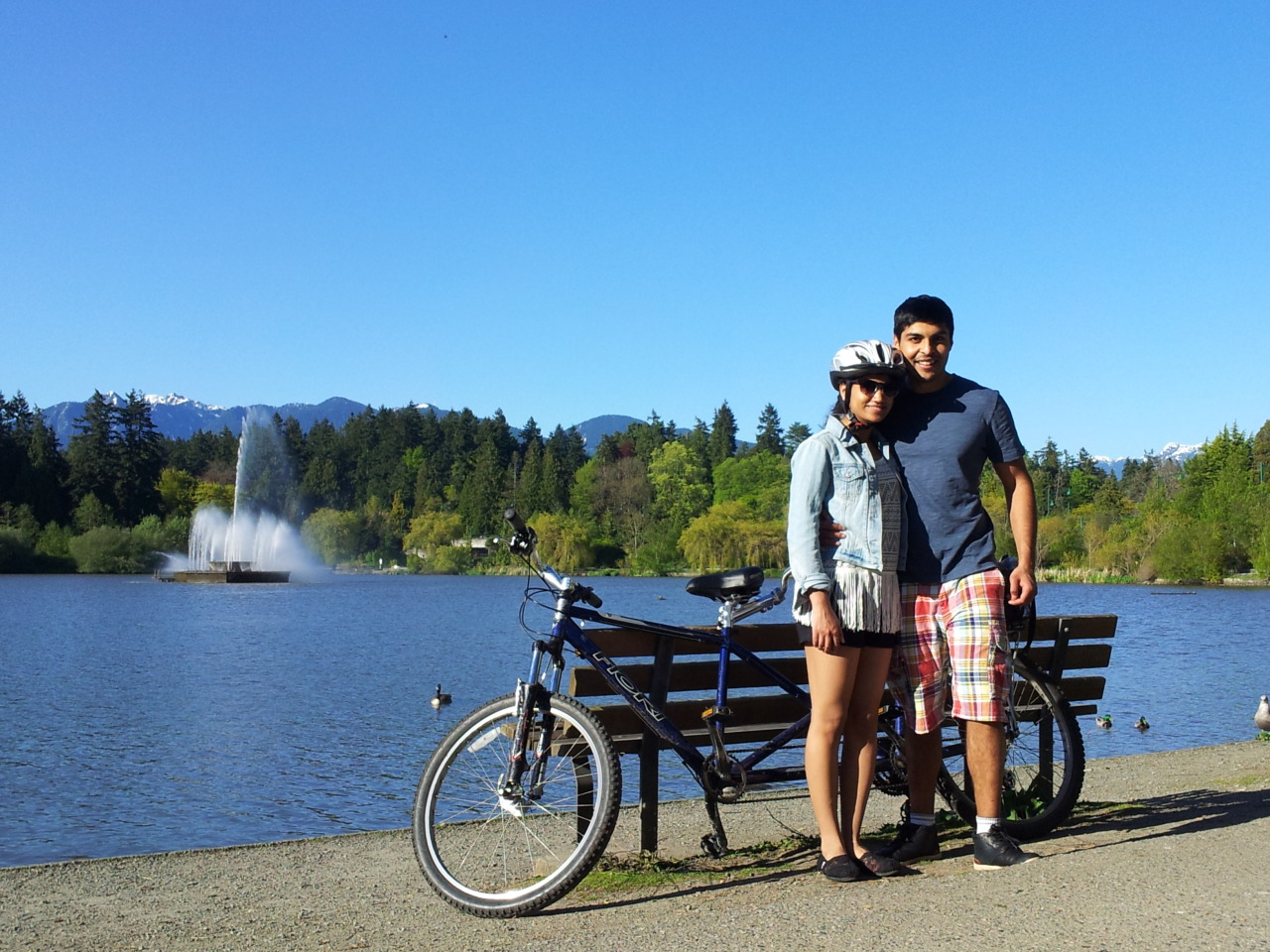 Seawall fun with that amazing boy.  I can finally check off tandem biking from my bucket list!