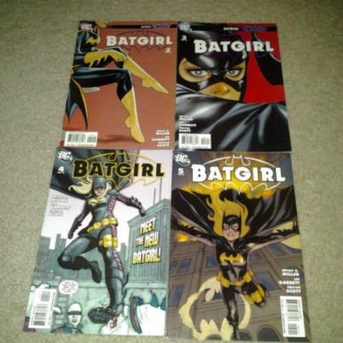 Just reading the 2nd & 5th stephaine brown batgirl comics. (at Denton,Tx)
