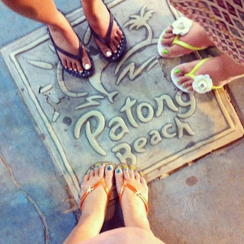 { Bangla Road } In Patong Beach. #feet #fromwherewestand #shoes #phuket #travel