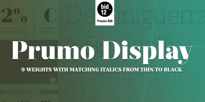 I absolutely love Prumo Display from DSType. If this ever goes on sale, I'll definitely pick it up.