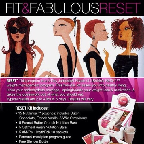 Lets get summer ready together! #reset #usanainc #health #fitness Contact me to find out how you can get 10% off!