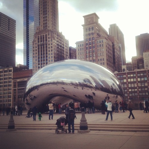 Gigantic bean in Chi-town