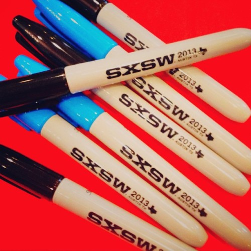 You will always need Sharpies! Lets just say, I'm prepared for #sxsw today by @sharpie http://instagr.am/p/Wr3bsxitbv/