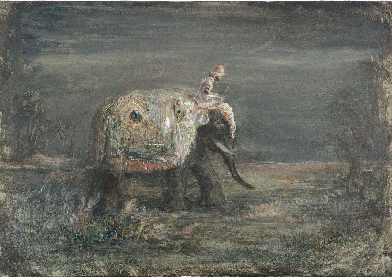 Alfred Kubin, Indian Journey (The Elephant) c.1905