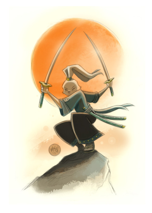 mikemaihack:  Usagi Yojimbo commission.