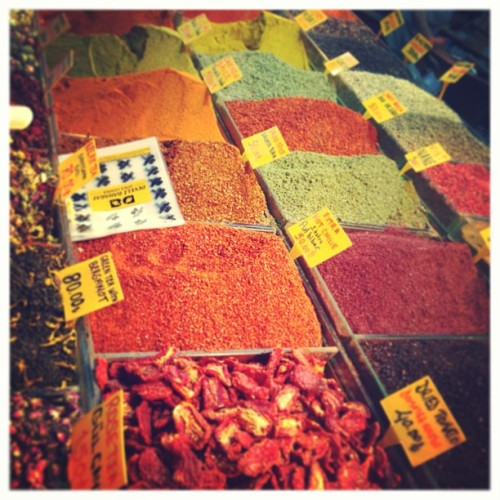 Spices from the Egyptian market! #istanbul #bazar / on Instagram http://bit.ly/10g3hfR