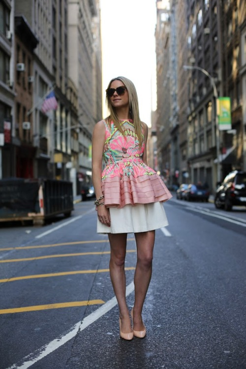 fashion-streetstyle:  (via Atlantic-Pacific: midtown neons)