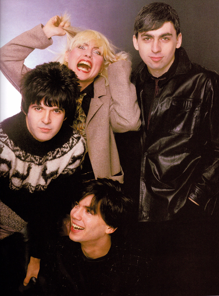 superseventies:  Blondie photographed by Mick Rock