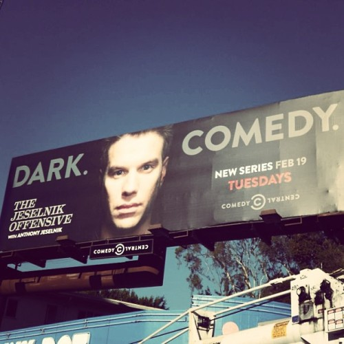 The sun sets just in time for some dark comedy. The #Jeselnik Offensive starts tonight at 10:30/9:30c.