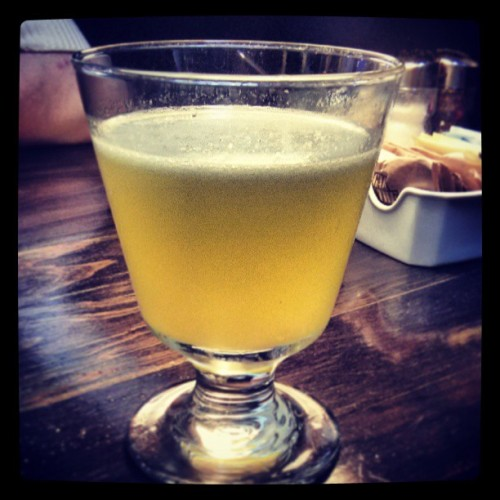 highland punch (at Bastille Café & Bar)